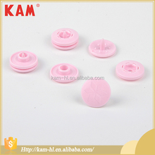 Custom china KAM pink plastic snap button for clothing