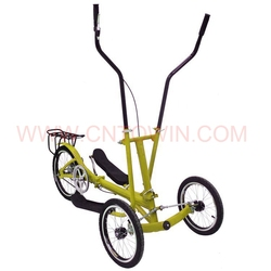 popular china manufacturer elliptical bike on wheels with twister