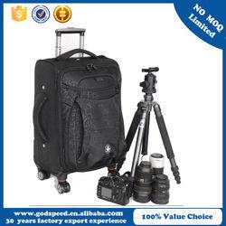 Alibaba China Multi waterproof nylon camera trolley bag