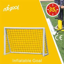 Football equipment inflatable soccer goal, soccer net.