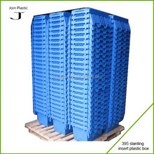 Distribution plastic tray box with lid