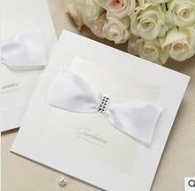 New wedding card & New design invitation card & guangzhou fancy e card wedding invitation card