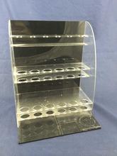 Customized nail polish shelf acrylic