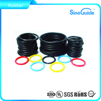 Clear Silicone Rubber Flat O-Ring