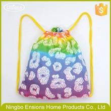 hot sale printed folding beach towel bag