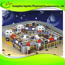 Full Indoor Park Project Superboy Commercial Kid Plastic Play Tunnel 154-1c