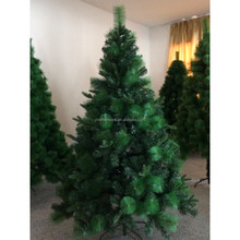 180cm PE+PET+PVC ordinary leaf ,PE leaf mixed with pine needles Christmas tree