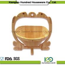 High quality wholesale fashion natural bamboo steamer basket