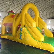 big inflatable slide pool , NO.860 latest inflatable slide climbing wall