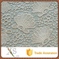China Supplier Italian Chemical Embroidery Water Soluble Lace Fabric