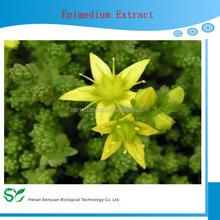 High Quality Epimedium Extract Icariin 98%.Icariin 98% Powder