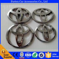 car wheel center hubcaps chrome badge emblem for Toyota sticker