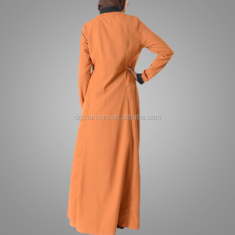 Latest embroidered muslim front open abaya islamic clothing for women turkish cardigan (3).jpg