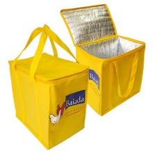 Factory customized cheap recycled aluminum foil cooler bag