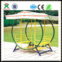 Durable garden swing with sun shade/swing sets/4 seater swing QX-100B