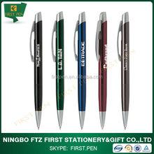 Custom Promotional Aluminium Imprinted Pens