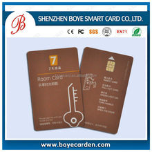 Free Design Rfid Card Printing! Contact IC Card With Chip SLE5542