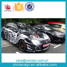 hip hop style amazing printing car decals so cool custom car body wrap sticker