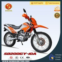 South America Popular Motorcycle High Quality Chongqing 200CC Dirt Bike Hyperbiz SD200GY-10A