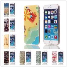 Customized design DIY IMD stylish TPU phone case for iphone 6 mobile phone cover