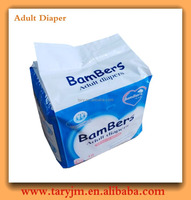 Disposable Adult Diaper in Bale with Baby Style Print for Hospital
