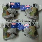 koala mais novo clipe com padrão de camuflagem colete