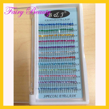 factory products False Eyelashes Y-lash Extensions with diamond