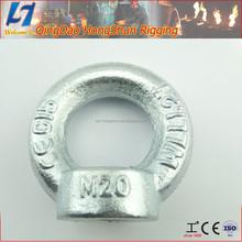 carbon steel betel nut galvanised eye nut
