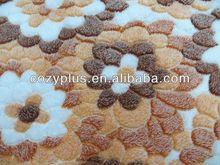 2013 shaoxing top 10 Fleece Blanket 100% Polyester Fabric for hand made baseball gloves