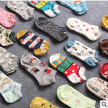 A862 2015 COTTON wholesale women men fashion cute cartoon stereo animal boat socks
