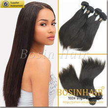 Bx wholesale factory price top quality indian straight wave hair weft