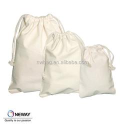 Supply Canvas Cloth Drawstring Bag