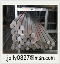 bright stainless steel hex rod in various materials