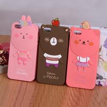new style animal shape silicone phone case