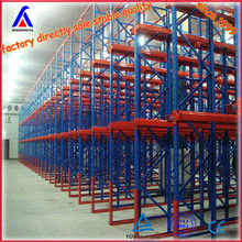 warehouse steel heavy duty storage first out (LIFO) drive in rack system factory supplier