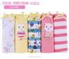 In stock wholesale design cartoon printed cotton girls boxer children underwear