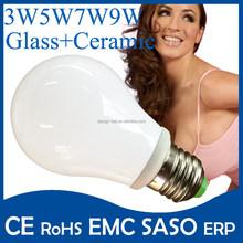 China supplier LED bulb lights 3000k E27 G45 Full glass LED bulb lights, CE-LVD, EMC,RoHS,Erp certificate