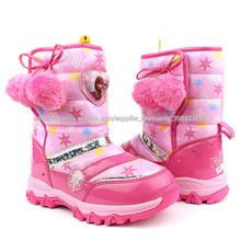 2014 chicas con estilo de invierno congelada de nieve botas de la serie