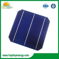 6 inch monocrystalline silicon solar cell 6x6 with best solar cell