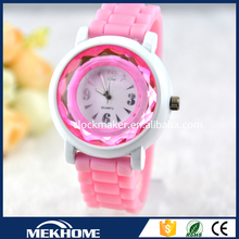 new style small sillicone strap watches for girls