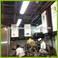precipitador eletrostático em kitchene gorduroso cozinhar fume extractor