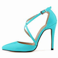 Jushee 2016 Sexy High Heeled Shoes for Women Pumps Shoes Cheap Shoes High Heels Fashion Strappy Pretty High Heels