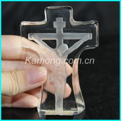 custom made jesus crystal cross