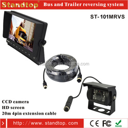 Truck/bus/Trailer 10.1 inch lcd stand alone monitor reverse camera set