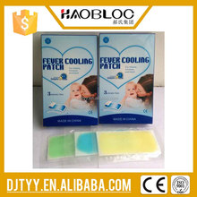 100% natural ingredients aqua gel patch with CE approved