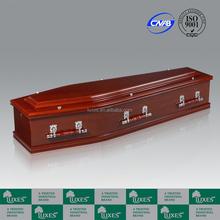 Luxes australienne Style cèdre papier cercueils grande pas cher cercueils