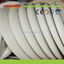 Marine Pvc Edge Banding White Color Plastic Edge Band For Table
