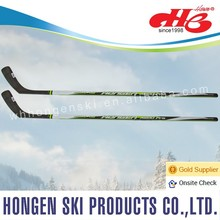 Hongen composite ice hockey stick--ABS shaft, glassfiber blade