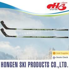 Hongen composite ice hockey stick, roller hockey--ABS shaft, glassfiber blade