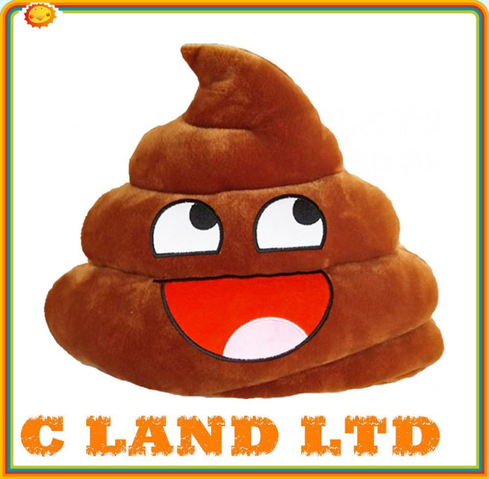 Poop Poo Plush Smiley.